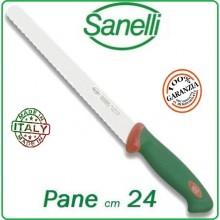 Linea Premana Professional Knife Coltello Pane cm 24 Sanelli Italia Art.302624