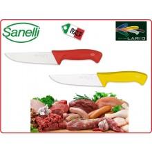 Coltello Professionale Francese cm 18 Giallo Rosso Sanelli Linia Lario Italia Art.100718