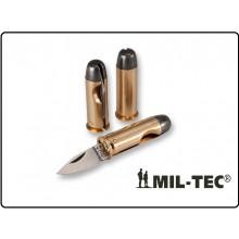 Coltello a Forma di Proiettile Pallottola 44 Magnum Militare da Collezione o Idea Regalo Mil Tec Art.15399200