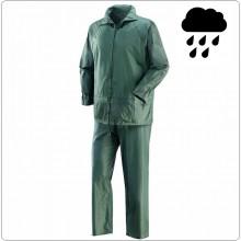 Completo Antipioggia  Anti Pioggia Verde Emergenza Soccorso Tempo Libero  Art.1700V