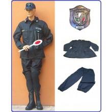 Completo Operativo Ordine Pubblico  Giacca + Pantaloni Colore Blu GPGIPS Guardia Particolare Giurata Art.OP-GPGIPS