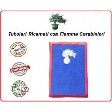 Gradi Tubolari Estivi Carabinieri Ricamati con Fiamma New Carabiniere Art.CC-TA1