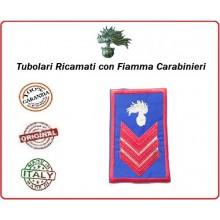 Gradi Tubolari Estivi Carabinieri Ricamati con Fiamma New Appuntato Scelto Art.CC-TA4