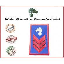 Gradi Tubolari Estivi Carabinieri Ricamati con Fiamma New Appuntato Art.CC-TA3