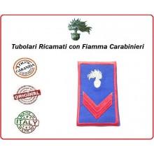 Gradi Tubolari Estivi Carabinieri Ricamati con Fiamma New Carabiniere Scelto Art.CC-TA2