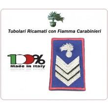Gradi Tubolari Estivi Carabinieri Ricamati con Fiamma New Brigadiere Art.CC-TA6