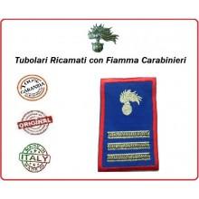Gradi Tubolari Estivi Carabinieri Ricamati con Fiamma New Maresciallo Capo Art.CC-TA9