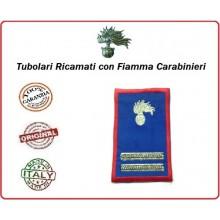 Gradi Tubolari Estivi Carabinieri Ricamati con Fiamma New Maresciallo Ordinario Art.CC-TA8