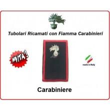 Gradi Tubolari Carabinieri Ricamati con Fiamma New Carabiniere Art.CC-T1
