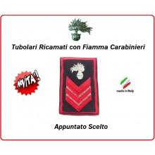Gradi Tubolari Carabinieri Ricamati con Fiamma New Appuntato Scelto Art.CC-T4