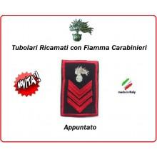 Gradi Tubolari Carabinieri Ricamati con Fiamma New Appuntato Art.CC-T3