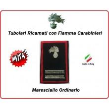 Gradi Tubolari Carabinieri Ricamati con Fiamma New  Maresciallo Ordinario Art.CC-T8