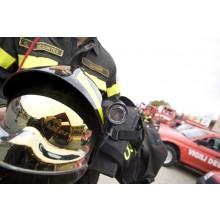 Casco Elmo Intervento Antincendio Nuovo Tipo Vigili Del Fuoco Sicor Italia Bianco Giallo Grigio VFR 2009-PRO Art.VFR2009-PRO