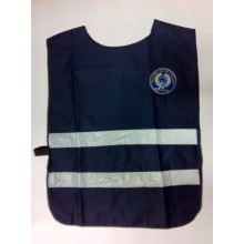 Corpetto Gilet Fratino Blu Con Stampa e Logo Associazione Europea Operatori Polizia Vega Holster Art.AP4-AEOP