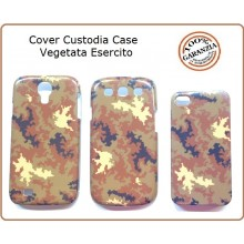 Cover Custodia Case Vegetata Esercito Italiano per Samsung S3 Art.EUMAR-V4