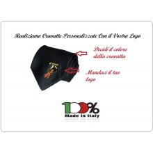 Cravatta Personalizzata Con il Vostro Logo Art.2BSNC
