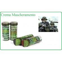 Crema Trucco Mascheramento Militare Bicolor Grande 60 Gr NATO Art.463110