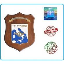 Crest Aeronautica 15° Stormo Prodotto Ufficiale Art.AM25