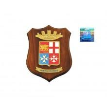 Crest Marina Militare Italiana Prodotto Ufficiale Giemme cm. 24 x 18 Art.MM1000