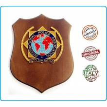 Crest International Police Association Servo Per Amikeco Art.IP1