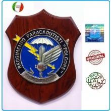 Crest Folgore 187° Rgt Paracadutisti cm. 24 x 18 Prodotto Ufficiale Art.08030
