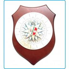 Crest Rosa Dei Venti Marina Militare Italiana Prodotto Ufficiale Art.914-R-M