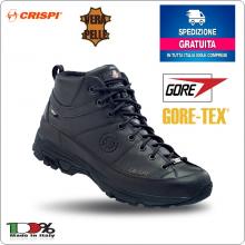 Stivaletto Scarponcino Polacco Crispi A-Way Mid Black GTX Polizia Urbana Militare Vigilanza Art.A-WAY