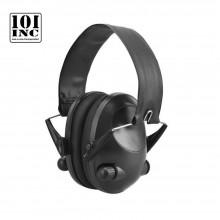 Cuffia Anti Rumore Elettroniche Professionale Electronic Ear Covers Paraorecchie Protezione Acustica Pieghevole INC101 Nera  Art. 469340
