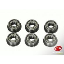 Boccole con Cuscinetti in Metallo per Gearbox Soft Air Universali 8mm Element Art.EL-IN0204