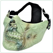 Maschera Tactical Zombie Putrid Flesh Royal Verde Soft Air Art.WO-MA67JS