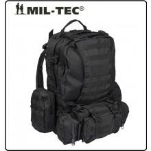 Zaino Assalto Militare 36 Litri Modulari Defense Pack con Sistema M.O.L.L.E. Nero Mil-Tec Art.14045002