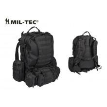Zaino Assalto Militare 36 Litri Modulari Defense Pack con Sistema M.O.L.L.E. Nero Mil-Tec Art. 14045002
