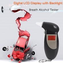 Etilometro Alcol Test Professionale Display LCD Breath Alcohol Analyzer Polizia Digital Breath Alcohol Tester SALVA PATENTE Art.ALI-H10005