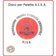 Adesivo di Ricambio per Paletta cm 15.50 classe III° Omologato A.V. Alta Rifarzione Nido D'ape A.I.S.A. Art.R0-AISA
