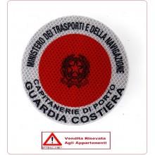Adesivo Per Paletta Rosso MINISTERO DEI TRASPORTI E DELLA NAVIGAZIONE VENDITA RISERVATA Art.R-MTN