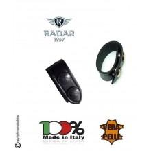 Distanziale Distanziali Radar 1957 Cuoio Doppio Bottone Passante per Cinturone Nero Confezione 1 Pezzo Art. 4086-0600