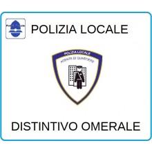 Distintivi Di Specialità Omerali Polizia Locale Agente Di Quartiere Art.NSD-PLADQ