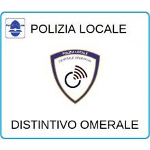 Distintivi Di Specialità Omerali Polizia Locale Centrale Operativa  Art.NSD-PLCO