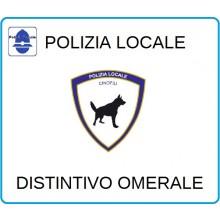 Distintivi Di Specialità Omerali Polizia Locale Cinofila Art.NSD-PLC