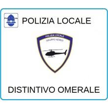 Distintivi Di Specialità Omerali Polizia Locale Gruppo Aereo Art.NSD-PLGA