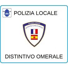 Distintivi Di Specialità Omerali Polizia Locale Vigilanza Interprete Multilingua Art.NSD-PLIM