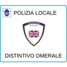 Distintivi Di Specialità Omerali Polizia Locale Vigilanza Interprete Art.NSD-PLI
