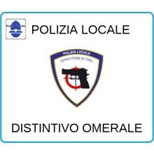 Distintivi Di Specialità Omerali Polizia Locale Vigilanza Istruttore di Tiro Art.NSD-PLIT