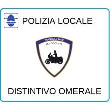 Distintivi Di Specialità Omerali Polizia Locale Motociclista Art.NSD-PLM