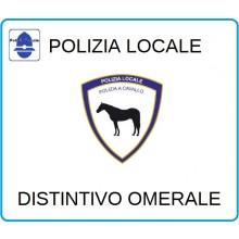 Distintivi Di Specialità Omerali Polizia Locale a Cavallo  Art.NSD-PLAC