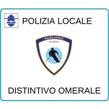 Distintivi Di Specialità Omerali Polizia Locale Sciatori Art.NSD-PLSKI