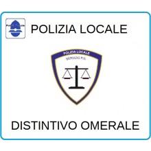 Distintivi Di Specialità Omerali Polizia Locale Servizio P.G. Art.NSD-PLPG