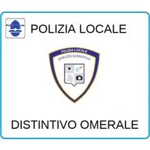 Distintivi Di Specialità Omerali Polizia Locale Servizio Sentifico Art.NSD-PLS