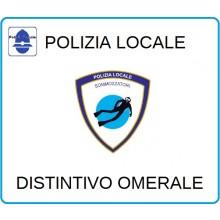 Distintivi Di Specialità Omerali Polizia Locale Sommozzatori Art.NSD-PLSU