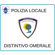 Distintivi Di Specialità Omerali Polizia Locale Vigilanza Ambientale Art.NSD-PLVA